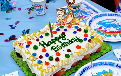 With Any Party Reservation You Bring The Kids And Cake Well Take Care Of Food Fun